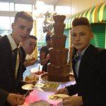 School Prom Chocolate Fountain For Surrey School