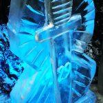 29 Commando Royal Artillery Ice Sculpture Vodka Luge