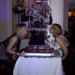 Crysis Logo - Xbox game - Ice Luge - Luge for Vodka - Ice Carving Sculpture | Ice Agency