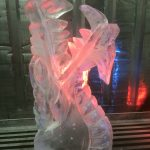 Dragon Head - Ice Luge - Luge for Vodka - Ice Carving Sculpture | Ice Agency