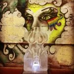 He She Etched - Ice Luge - Luge for Vodka - Ice Carving Sculpture | Ice Agency
