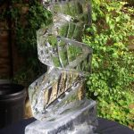 Helter Skelter Ice Sculpture Vodka Ice Luge