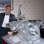 Hercules RAF Lyneham Luge - Vodka Luge - Ice Carving Sculpture | Ice Agency