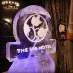 The Spa Hotel - Ice Luge - Luge for Vodka - Ice Carving Sculpture | Ice Agency