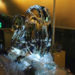 Number 20 Ice Sculpture Vodka Ice Luge