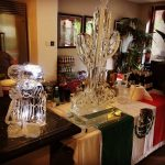 Mexican Theme Ice Sculpture Vodka Ice Luge