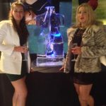 Torso Ice Sculpture Vodka Ice Luge for Windsor Party