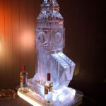 Big Ben - Ice Sculpture - Ice Luge - Luge for Vodka - Ice Carving | Ice Agency