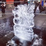 Ice Carving show - Snowflake - Ice Carving Sculpture | Ice Agency