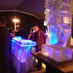 Ice Bar - Snowflake - Ice Luge - Luge for Vodka - Ice Carving Sculpture | Ice Agency