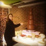 Large Chocolate Fountain for Office Party Haywards Heath