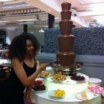 Large Chocolate Fountain For West London Office Party