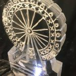 London Eye Ice Sculpture Vodka Ice Luge for party in Victoria London