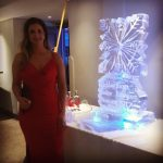 Nottingham Snowflake - Ice Luge - Luge for Vodka - Ice Carving Sculpture | Ice Agency