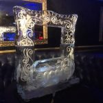 Cafe de Paris - Picture Frame - Ice Sculpture - Ice Carving | Ice Agency