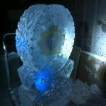 Royal Logistics Corp Cap Badge - Ice Carving Sculpture | Ice Agency
