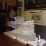 Sniper rifle for artist Rifles bisley surrey - Ice Sculpture - Ice Carving | Ice Agency