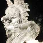Unicorn - Ice Luge - Luge for Vodka - Ice Carving Sculpture | Ice Agency