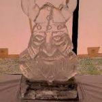 Viking Head - The 1st Royal Anglians - Ice Luge - Luge for Vodka | Ice Agency