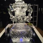 Webb Ellis Rugby Cup Twickenham - Ice Luge - Luge for Vodka Ice Carving Sculpture | Ice Agency