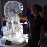 Pound Sign - Marco Pierre White - Ice Luge - Luge for Vodka - Ice Carving Sculpture | Ice Agency