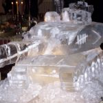 Challenge Tank Luge - Vodka Luge - Ice Carving Sculpture | Ice Agency