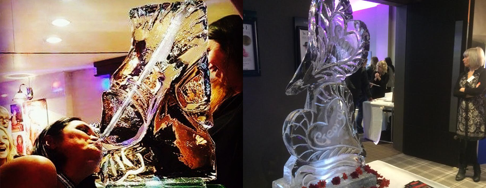 Blog Images - Ice Luge - Luge for Vodka - Ice Carving Sculpture | Ice Agency