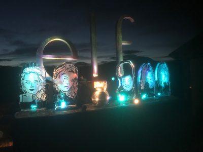 Instagram Ice Sculptures for Elf Cosmetics Event | Ice Agency