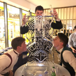 Gatsby Ice Sculpture Vodka Ice Luge