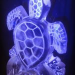Turtle Ice Carving - Luge for Vodka - Ice Carving Sculpture | Ice Agency