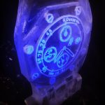 Luxury Watch Ice Luge - Audemars Piguet Watch - Party Ice Luge - Luge for Vodka - Ice Carving Sculpture | Ice Agency