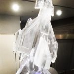 Ice Carving for Typhoon Fighter Jet - Ice Luge for Vodka - Ice Carving Sculpture | Ice Agency