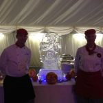 Ice Carving for Yorks Regiment - Ice Luge for Vodka - Ice Carving Sculpture | Ice Agency