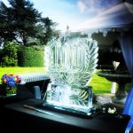 100th Birthday Ice Sculpture Vodka Ice Luge 100th Anniversary