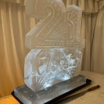 21st birthday Ice Sculpture Vodka Ice Luge in Epsom Party