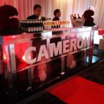 2m Ice Bar in Aberdeen for Scottish event at Ardoe House Hotel