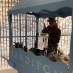 Live Ice Sculpture for Sanditon TV Series in MIPCOM Cannes