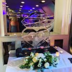 Tank Vodka Ice Luge Ice Sculpture For Army Wedding Party
