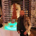 Ali Hamidi Birthday Party Chocolate Fountain For Monster Carp and Team Korda