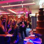 Chocolate Fountain for Inghams Ski Christmas Party at Mandolay Hotel Guildford