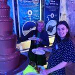 brighton sea life centre event chocolate fountain