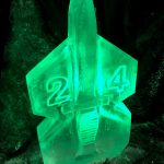 24 Commando Royal Marines Mess Party Ice Sculpture Vodka Luge in Poole Dorset