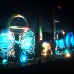Elf cosmetics Live Ice Carving Display at Trophy Lodge Iceland Golden Circle