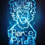 Tiger Face Ice Luge for Army Charity Party Princess of Wales Royal Regiment