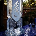 Fulham FC Ice Sculpture Vodka Ice Luge For Football Fan Birthday Party