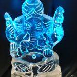 Asian Wedding Ganesh Vodka Ice Luge Ice Sculpture for Slough Wedding