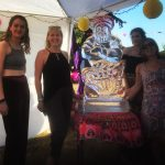 Genie Ice Sculpture Vodka Ice Luge Arabian Knights Theme Party