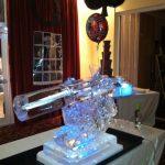 Military Intelligence 007 Gun Ice Sculpture Vodka Luge in Bulford