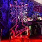 Virgin Christmas Party Ice Sculpture Vodka Luge Ice Carving in Crawley The Base