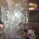 Butterfly Vodka Ice Luge Ice Sculpture at The Grand Hotel Brighton